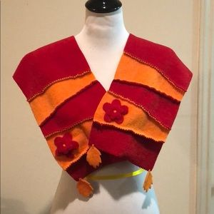 Accessories - Red and orange scarf